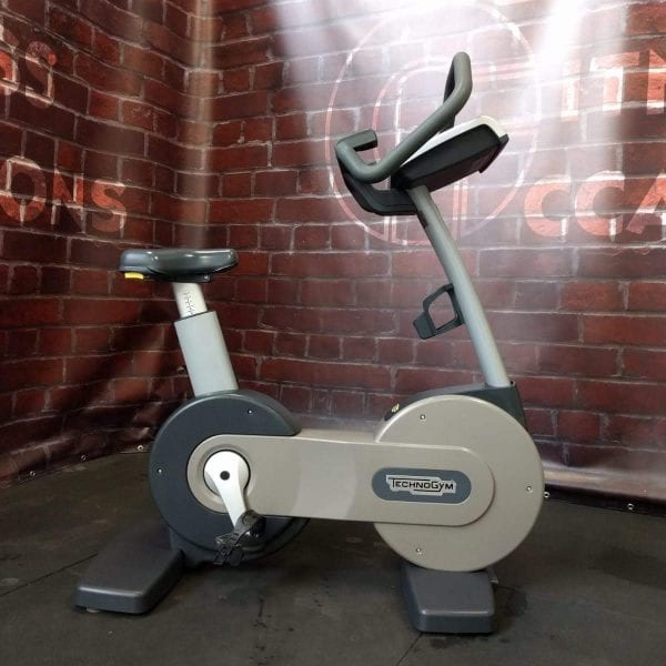 Technogym Excite New Bike Silver Image